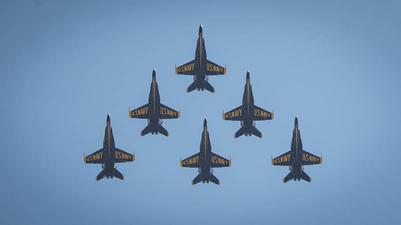 America Strong Flyover Stamford