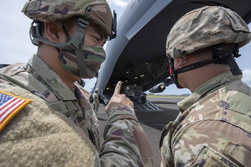 Guardsmen deployed to Kauai receive shipment of humvees, bolstering Hawaii COVID-19 response