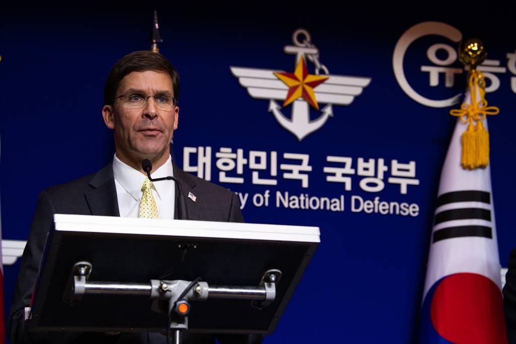 Defense Secretary Mark T. Esper