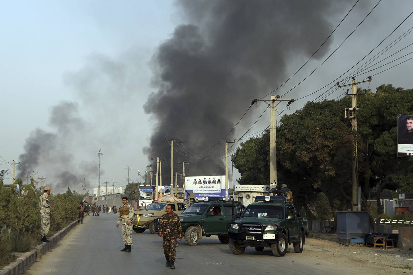 Taliban suicide attack in Kabul