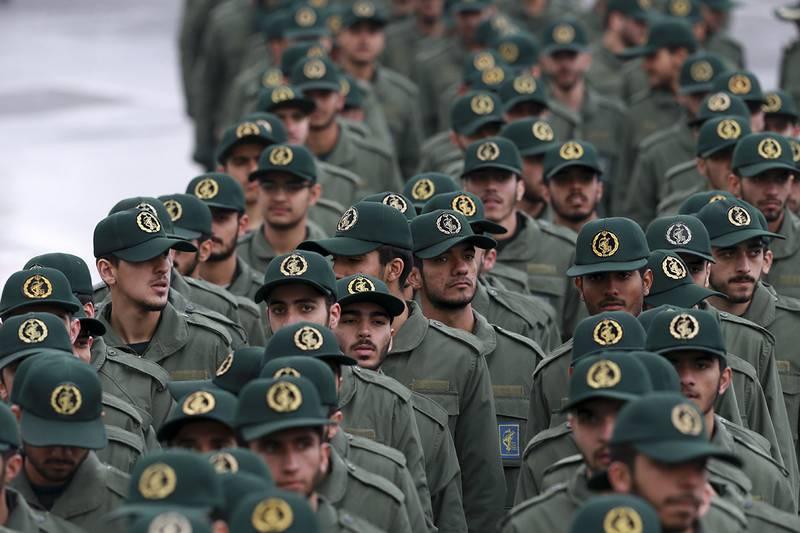 Iranian Revolutionary Guard members