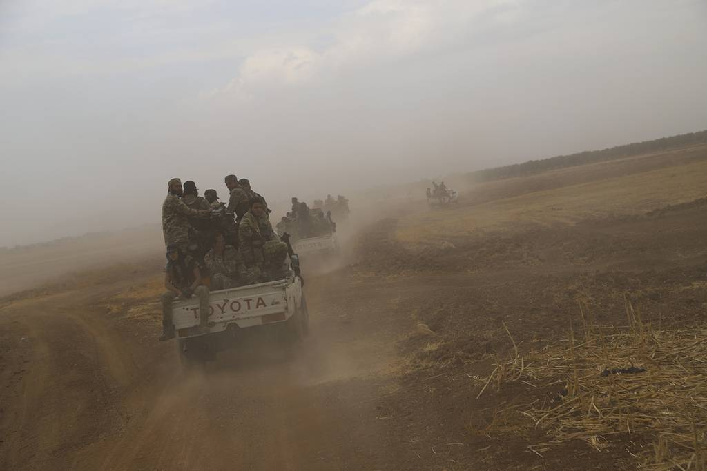 Turkish-backed Free Syria Army