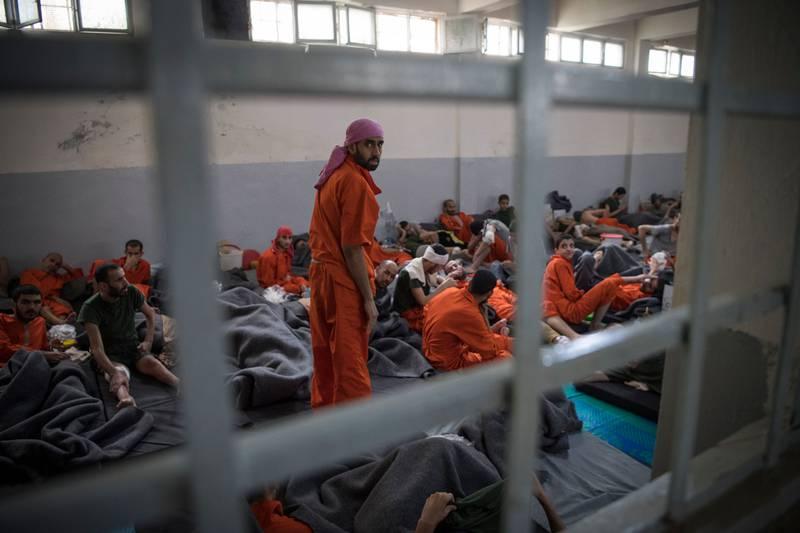 Kurdish prison Islamic State prisoners
