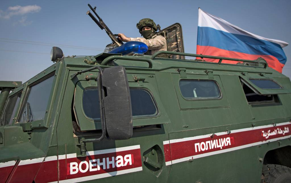 Russian military vehicle