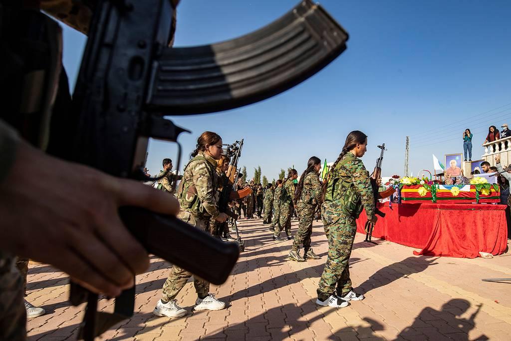 Kurdish funeral