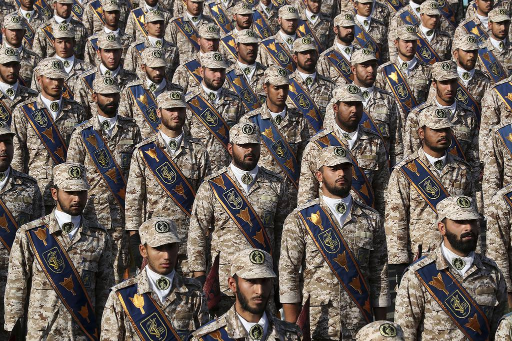 Revolutionary Guard troops