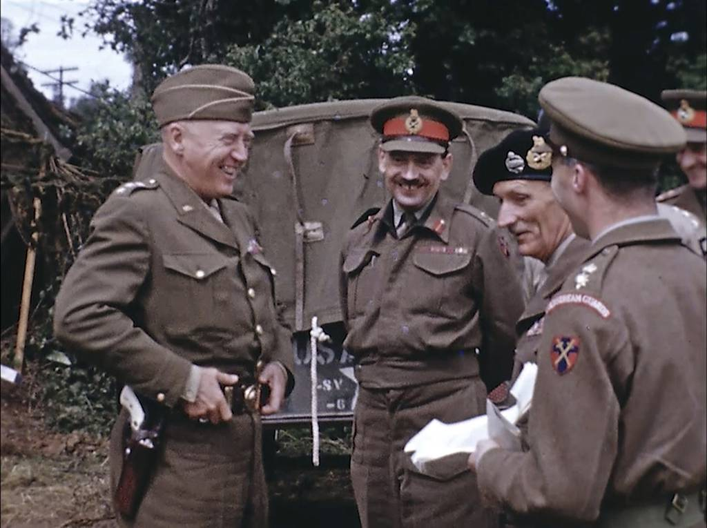 British Field Marshal Bernard Montgomery