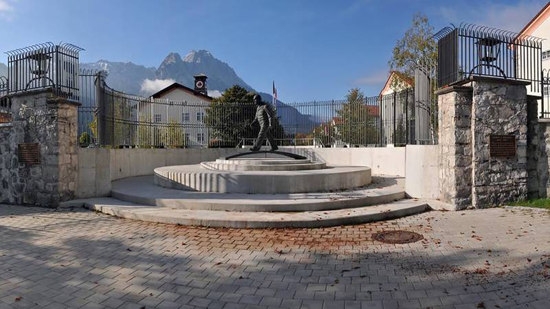 The George C. Marshall European Center for Security Studies is seen March 9, 2020, in Garmisch-Partenkirchen, Germany.