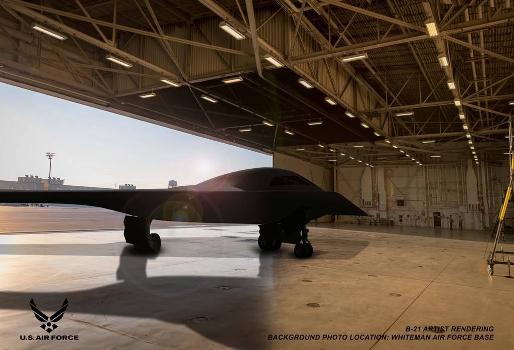 B-21 Raider concept