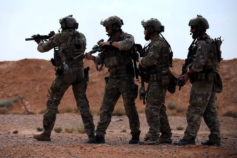 Green Beret breach training at ATG