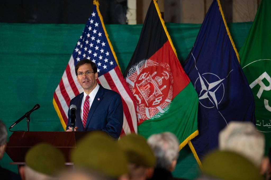 Esper in Afghanistan