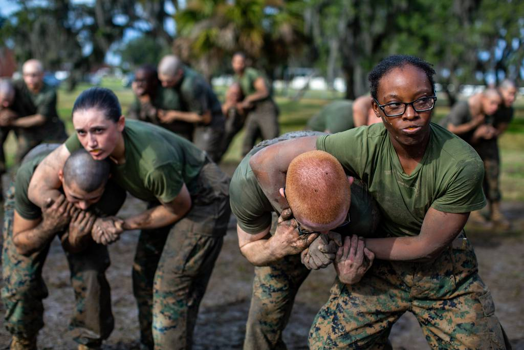 India Company Marine Corps Martial Arts Program - Counter to Chokes and Holds