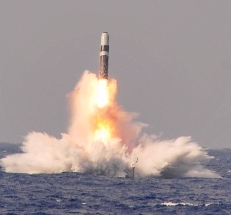 Trident II D-5 ballistic missile, USS West Virginia (SSBN 736)