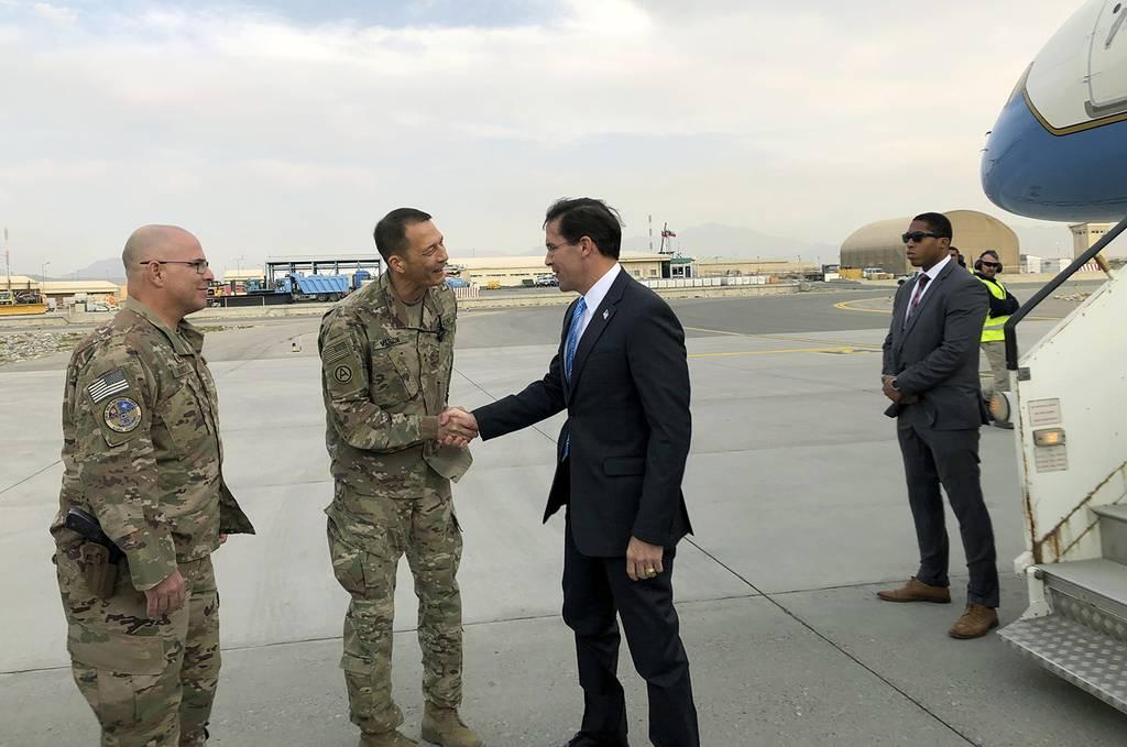 U.S. Defense Secretary Mark Esper