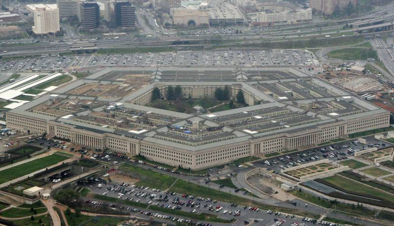 This March 27, 2008, file photo shows the Pentagon in Washington.
