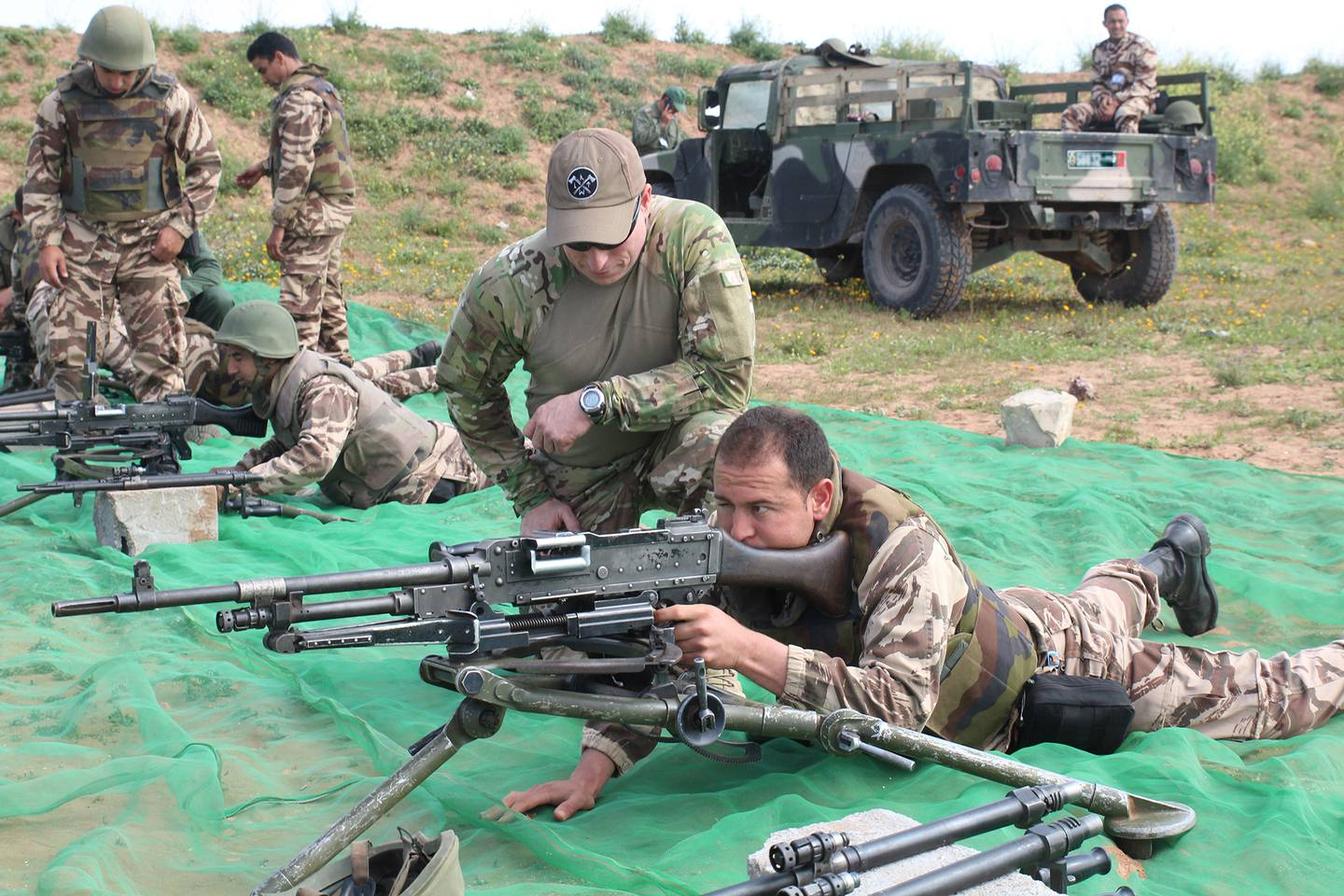 Exercise Flintlock 2017: Live Fire and Maneuver Range training in Morocco