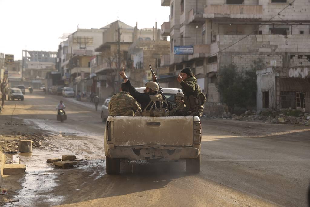 Nerab, in Idlib province