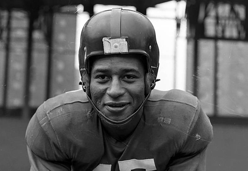 This undated photo provided by United States Coast Guard shows Emlen Tunnell, the first Black player inducted into the Pro Football Hall of Fame.