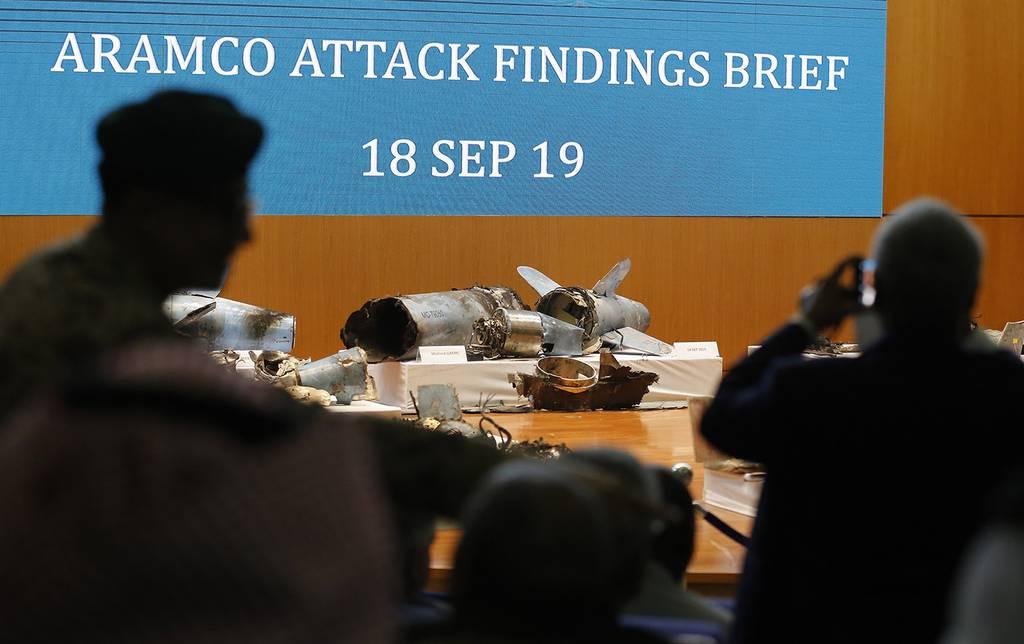 evidence of Iranian weaponry