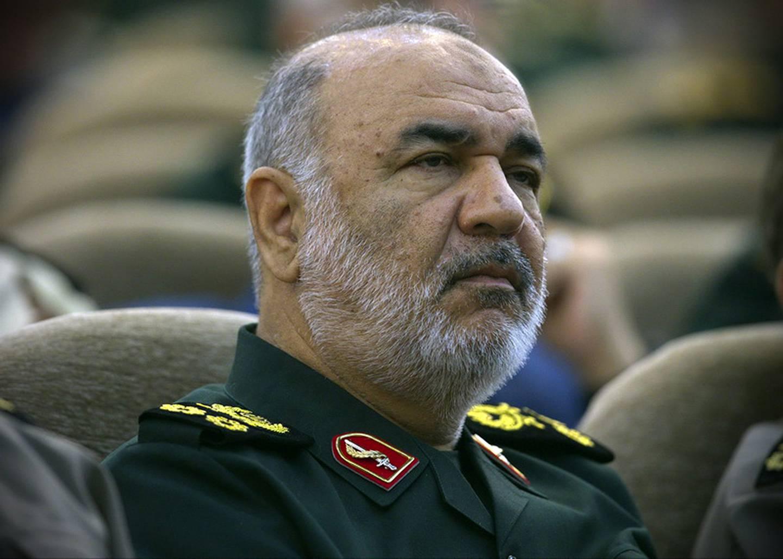 Iran's Revolutionary Guard commander Gen. Hossein Salami