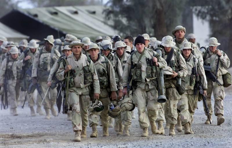 Marines, Kandahar, 2001