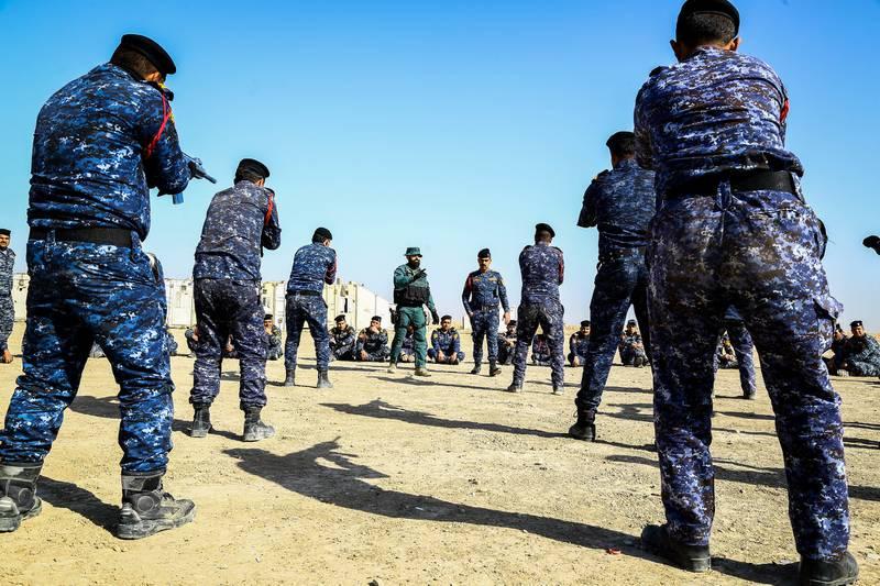 Iraqi Federal Police Training Academy