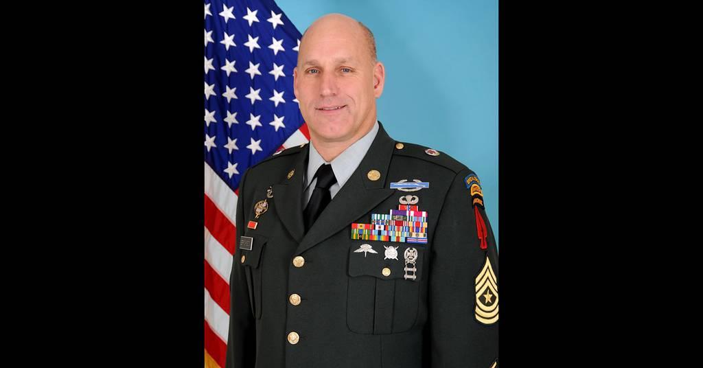 Sgt. Maj. Richard Erickson
